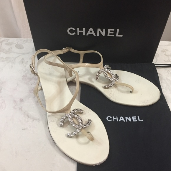 47c366034ce7 CHANEL Shoes - 🆕 Chanel CC Summer Sandals 🏖👙 🌞( run small)